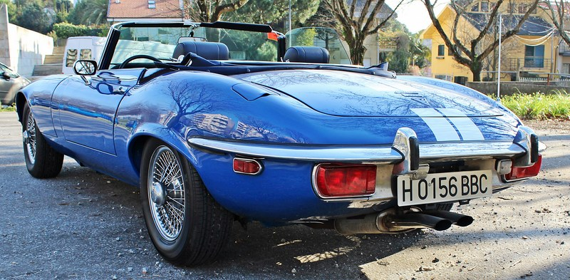 1973 Jaguar E Type 5.3 V12 Roadster