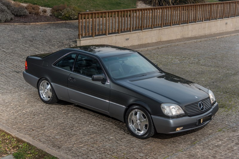 1993 Mercedes Benz S500 Coupe